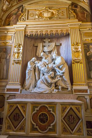 The Deposition of the cross Editoriali
