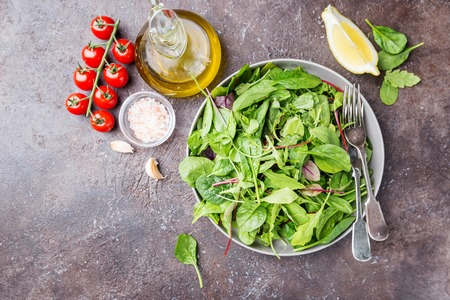 Fresh green salad 写真素材