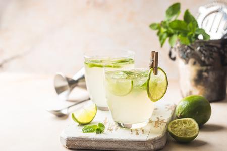 Lemonade or mojito cocktail Stock fotó
