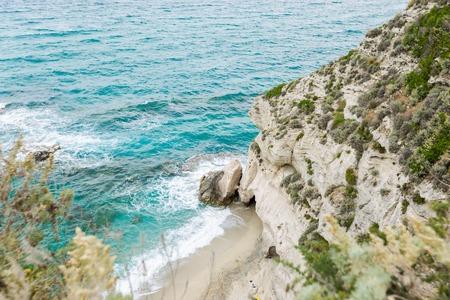 Mediterranean seascape, near Tropea