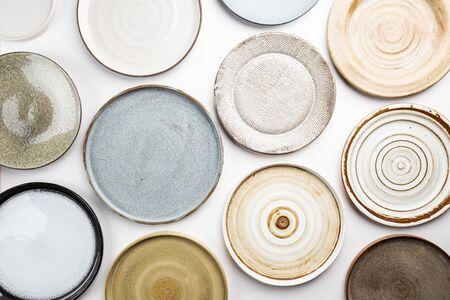 homemade pottery plates