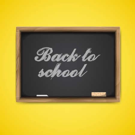 Back to school, vector Eps10 image Vektoros illusztráció