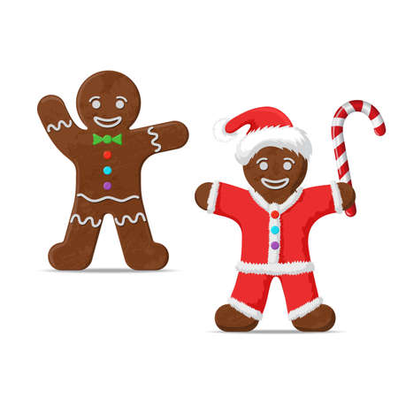 Gingerbread man. set of two