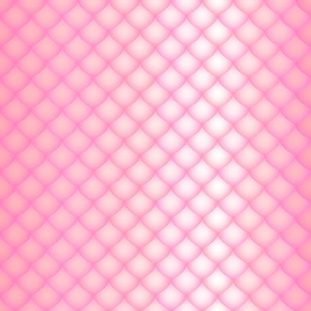 serpentes: the pink scales of a snake, fish, dragon, or other animal, seamless texture