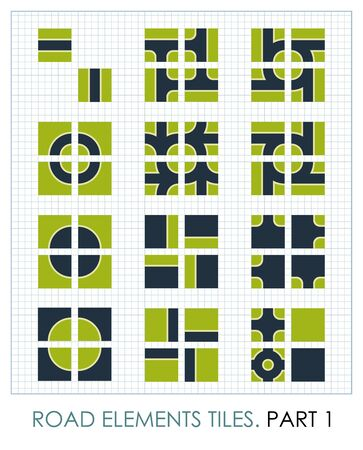 map toolkit: Road elements, vector maps constructor