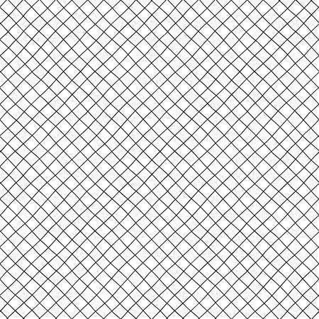 Piccole celle diagonali del modello senza cuciture disegnato a mano. Archivio Fotografico - 94780492