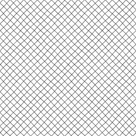 Small diagonal cells of hand-drawn seamless pattern.