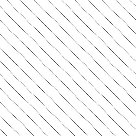Seamless pattern. Thin diagonal lines with a large gap, hand-drawn.