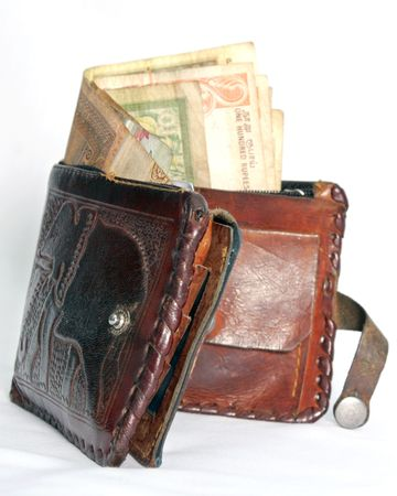 sri lankan money Stock Photo