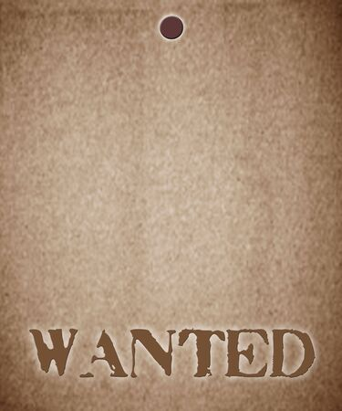 wanted notice Stock Photo - 4517624