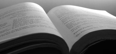 book closeup