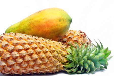 asian  papaya & pinapple