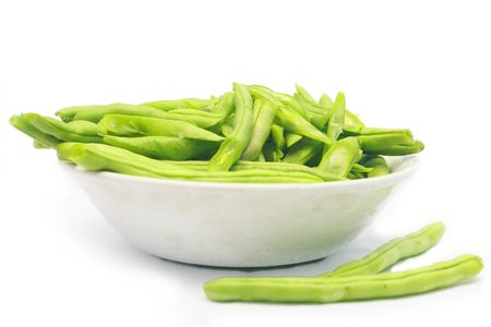 sting bean in a bowl