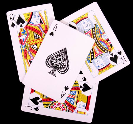playing cards Stock Photo - 7991041