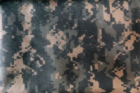 US army backpack close up