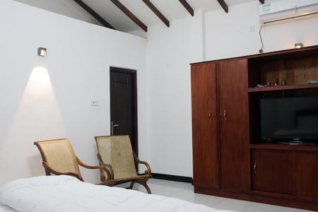 white interior