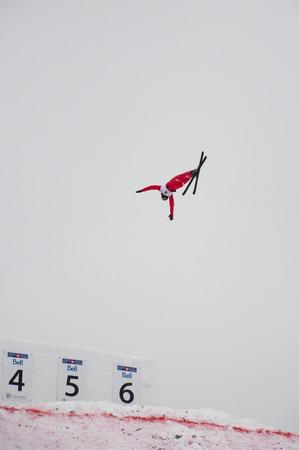 ワールドカップ空中戦、ウィンスポート(カナダオリンピックパーク)、カルガリー、アルバータ州、2011年1月28日