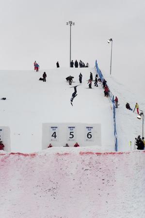 世界カップ エアリアル、Winsport (カナダ オリンピック公園)、カルガリー、アルバータ州、2011 年 1 月 28 日