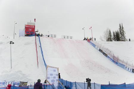 World Cup Aerials, Winsport (Canada Olympic Park), Calgary, Alberta, January 28, 2011 Editöryel