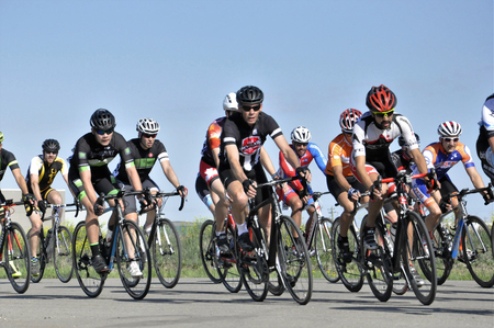 Jason LaPierre Cycling Criterium, June 5th, 2016 版權商用圖片 - 92967732