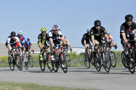Jason LaPierre Cycling Criterium, June 5th, 2016 版權商用圖片 - 92967734