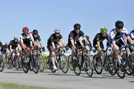 Jason LaPierre Cycling Criterium, June 5th, 2016 版權商用圖片 - 92967740