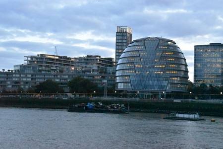 London City Hall, London England, October 3rd, 2017 新聞圖片