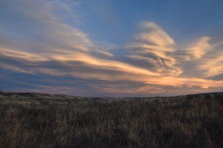 冬の草原の風景 写真素材 - 92157892