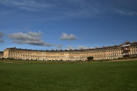 Royal Crescent in Bath England