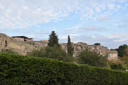 Ruins of Pompeii, November 25, 2017