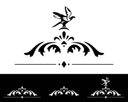classical design elements collection Illustration