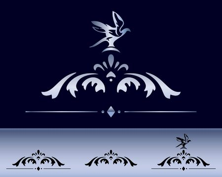 classical design elements and decorations