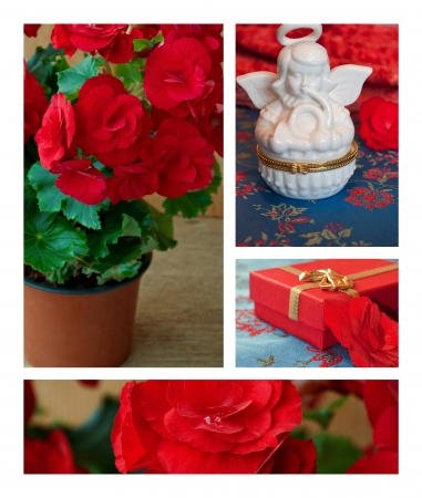 Flowers and decorations collection
