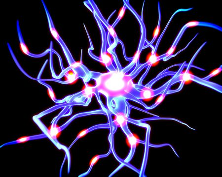 dendrite: Concept of neurons and nervous system.