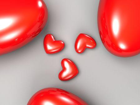 heart  illustration Stock Photo