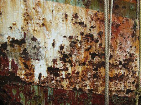 oxidate: metal texture