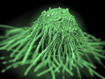 cancer cells: cancer cell or tumor illustration in high details