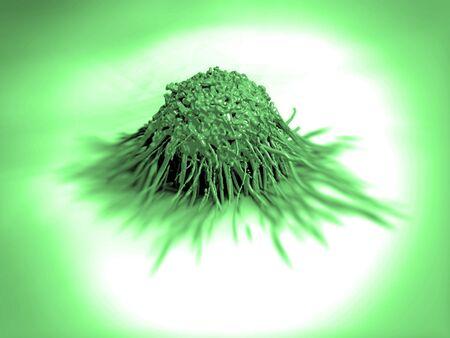 cancer cell or tumor illustration in high details