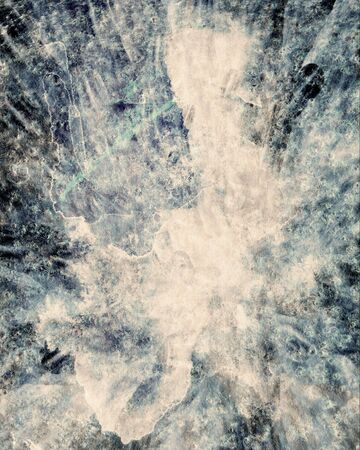 aging process: abstract background painting Stock Photo