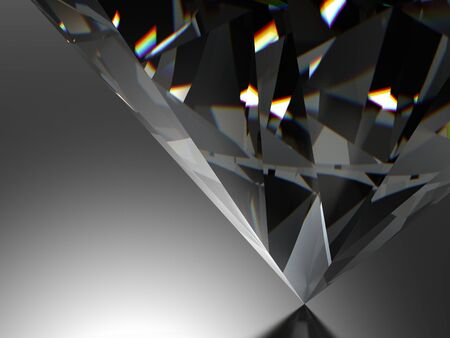diamante negro: diamante en fondo negro con alta calidad