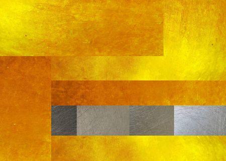 Gold und Stahl Metall Textur Hintergrund Standard-Bild - 54165824
