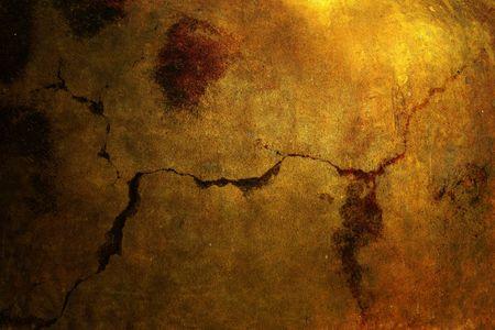 antique paper: Bronze metal texture background