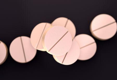 aspirin: aspirin tablets