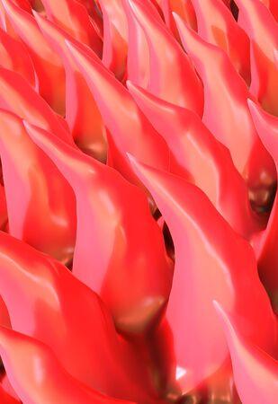 magnified image: Tongue surface