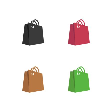 paper bags icon vector illustration. Isolated on white background
