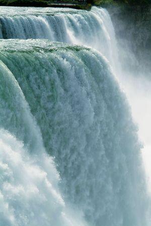 Close-up of Niagara Falls - vertical Stock Photo
