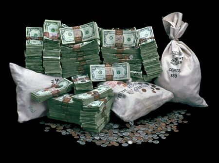 Pile Of Money - over $10,000 in real money