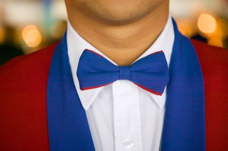 Close-up of waiter's uniform on a luxury cruise ship Stok Fotoğraf