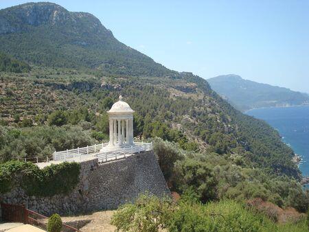 mallorca: View on Son Marroig Mallorca