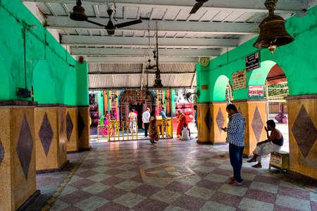 Ekteshwar, Bankura, West Bengal, India - February 7, 2018. Ektshwar Shiva temple in Bankura, West Bengal